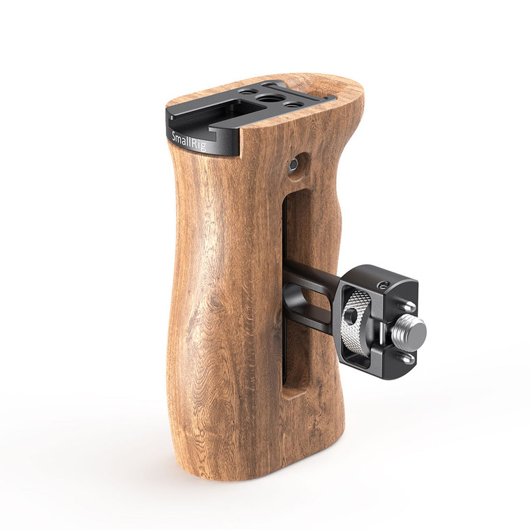 SmallRig Wood Side Handle with ARRI-Style Mount 2836