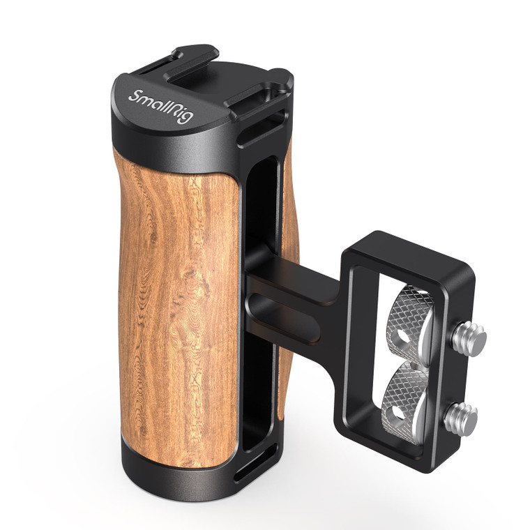 "SmallRig Wooden Mini Side Handle (1/4""-20 Screws) 2913"