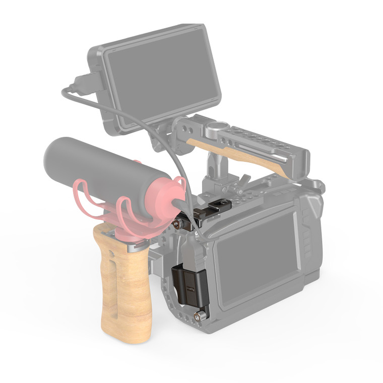 SmallRig HDMI & Type-C Right-Angle Adapter for BMPCC 4K & 6K Camera Cage with Cable Lock 2960