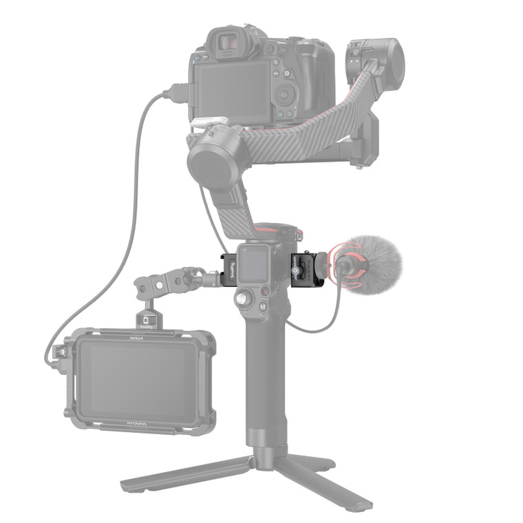 SmallRig NATO Clamp Accessory Mount for DJI RS 2/RSC 2 3025
