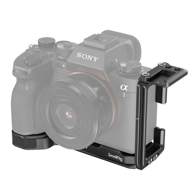 SmallRig Arca-type L Bracket for Sony Alpha 1&Alpha 7S III&Alpha 7R IV&Alpha 9 II 3207