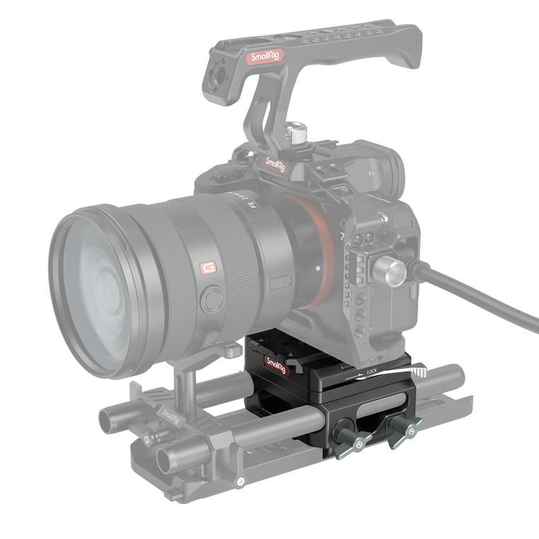 SmallRig Lightweight Baseplate with Dual 15mm Rod Clamp