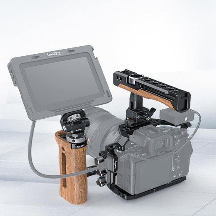 SmallRig Professional Cage Kit for Sony Alpha 7S III A7S III A7S3-1