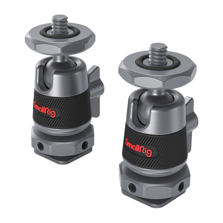SmallRig Mini Ball Head with Removable Cold Shoe Mount (two pieces) 2948 -1