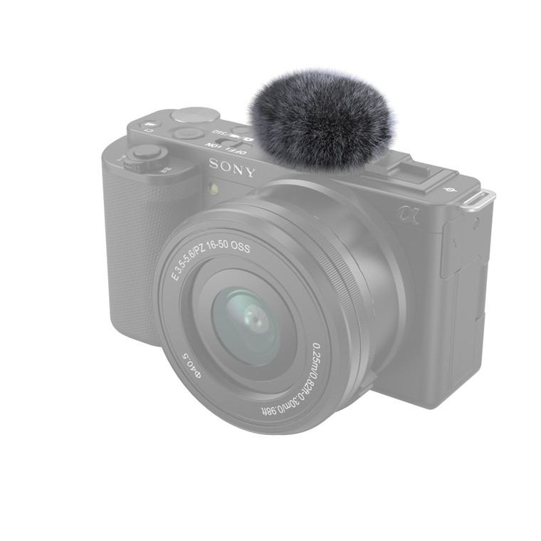 SmallRig Windshield for Sony ZV-E10 and ZV-1(Gray)3529-1