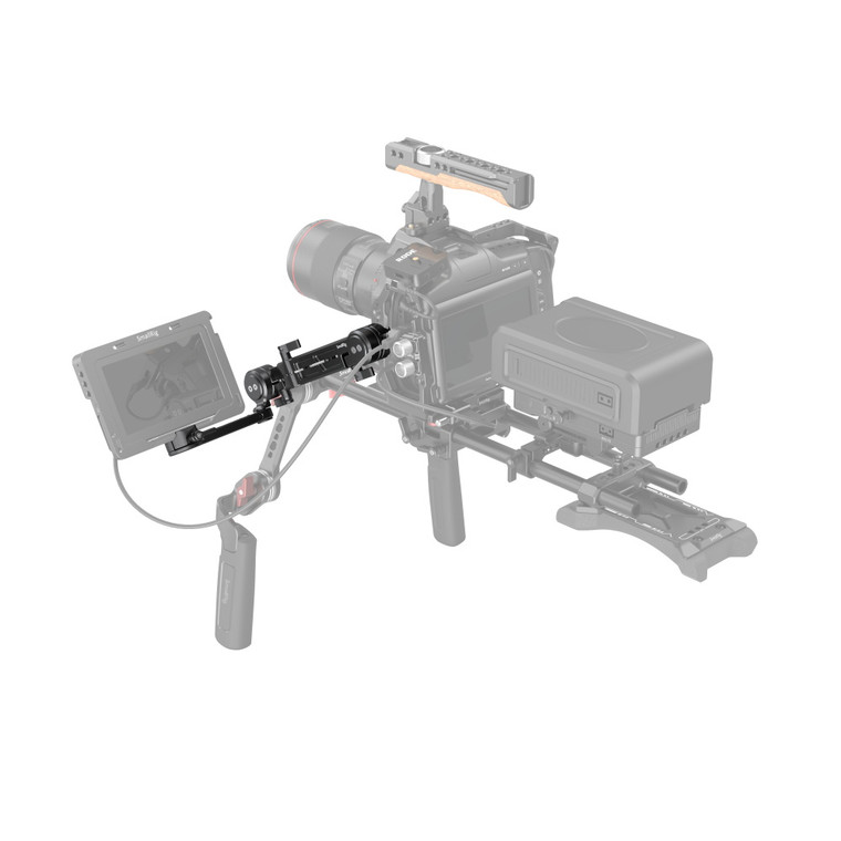 SmallRig Adjustable EVF Mount with NATO Clamp MD3507-1