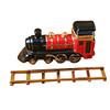 Locomotive/Train On Brass Track Rochard Limoges Box