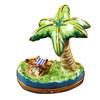 Rochard PALM TREE W/CHAIR Limoges Box RT193-J