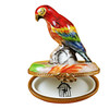 Limoges Imports Red Parrot Limoges Box