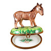 Limoges Imports Standing Donkey Limoges Box