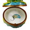 Limoges Imports Frog Fishing Limoges Box