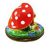 Limoges Imports Bunnies Under Mushrooms Limoges Box