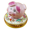 Limoges Imports Timmy Pig Limoges Box