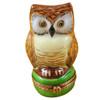 Limoges Imports Owl Of Wisdom Limoges Box