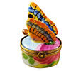 Limoges Imports Monarch Butterfly Limoges Box