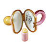 Limoges Imports Pink Pacifier Limoges Box