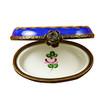 Limoges Imports Blue Oval Limoges Box