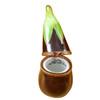 Limoges Imports Eggplant Limoges Box