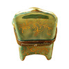 Limoges Imports Green Arm Chair Limoges Box