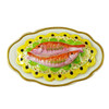 Limoges Imports 2 Fish On A Platter Limoges Box