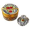 Limoges Imports Zebra Hat Box Limoges Box