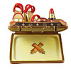 Limoges Imports Designer Suitcase W/ Accessories Limoges Box