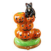 Limoges Imports Stacked Pumpkins Limoges Box