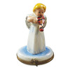 Limoges Imports Angel With Instrument Limoges Box