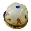 Limoges Imports Baseball Hat W/ Batters Limoges Box