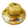 Limoges Imports Fishing Hat Limoges Box