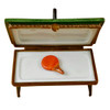 Green Ping Pong Table Limoges Box RS106