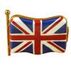 Limoges Imports British Flag Limoges Box