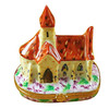 Limoges Imports Church Of Provence W/Van Gogh Limoges Box