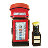 Limoges Imports British Phone Booth W/Removable Telephone Limoges Box