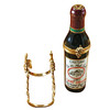 Limoges Imports Red Wine W/Grape Holder Limoges Box