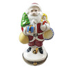 Limoges Imports Santa With Tree And Gifts Limoges Box