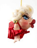 Katherine's Collection Marilyn Kissing Fish in Red Dress