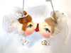 Katherine's Collection Bride & Bride Magnetic Kissing Fish