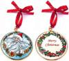 Staffordshire Christmas Ornament #1 (08-205)