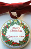 Staffordshire Queen Victoria Christmas Ornament (T363)