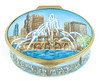 Staffordshire St. Basil's Cathedral Stamp Box. (55-624)