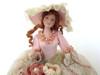 Quiet Elegance Half Doll Pin Cushion Doll (32VC105)