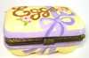 Katherine's Collection Easter Eggs Carton hinged box with SIX bunny eggs