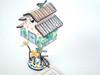 Kelvin Chen Striped Layered Roof ET2302 (ET2302)