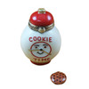 Rochard COOKIE TIME JAR WITH REMOVABLE COOKIE Limoges Box RK213-F