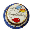 Limoges Imports VANILLA BIRTHDAY CAKE Limoges Box TO971-G