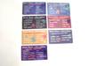 Grateful Dead Bean Bear Laminate Collector Card 7 cards 2,4,5,6,7,10,12