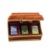 Tea Box Limoges Box with 3 Removable Tea Bags RK220-K