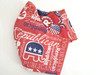 Republican Tossed All Over Fabric