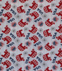 Republican Elephants USA Fabric